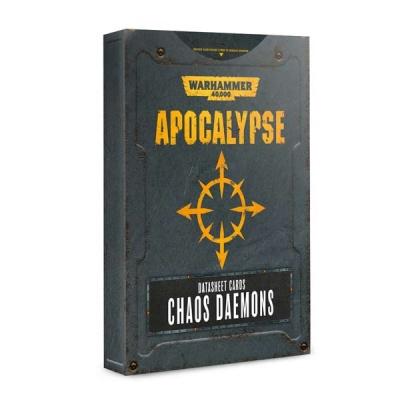 Apocalypse Datasheets: Chaos Daemons ENGLISCH