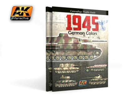 1945 German Colors Camouflage Guide
