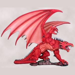Easley Dragons Set # 1 - Red Dragon