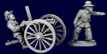 Plains Infantry Gatling Gun