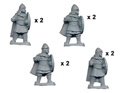 Varangian Guard with Spears (8)