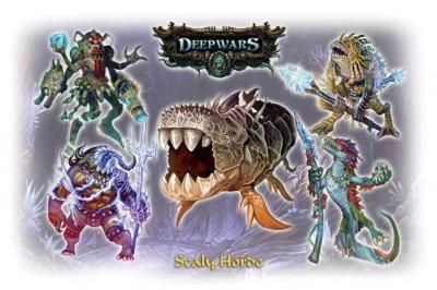 Deep Wars Deluxe Starter: Scaly Horde