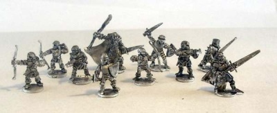 Blight Haven Human Mercenary Warband