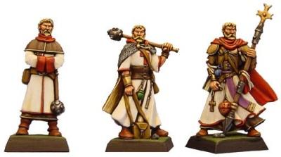 Der Priester (Dreistufen-Charakter)