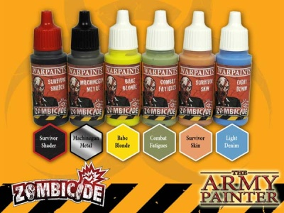 ZOMBICIDE Survivor Paintset