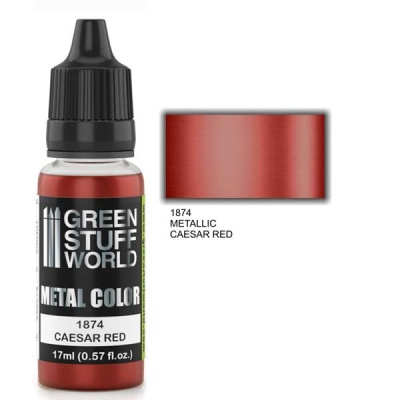 Metallic Paint CAESAR RED