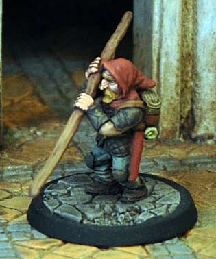 Dwarf Thief in Leather Armour
