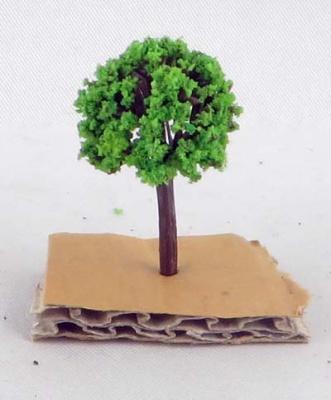 Modellbäume hellgrün 3cm, 1:500 (50)