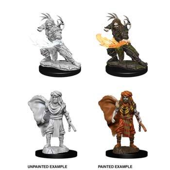 D&D: Male Human Druid (2)