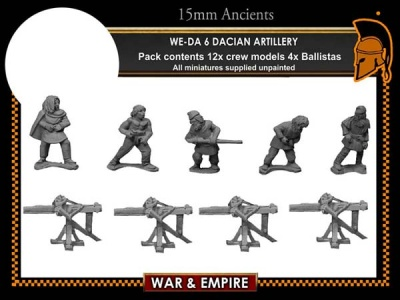 Dacian Artillery