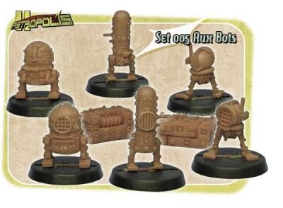Aux Bots + Boxes (3+2)