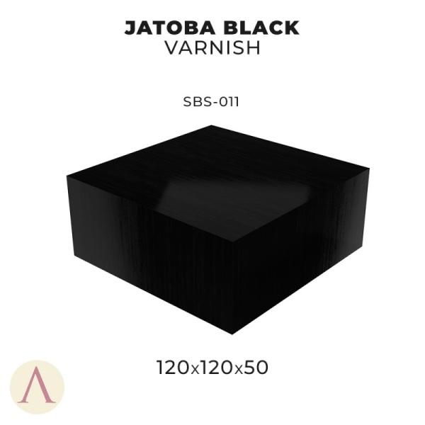 Jatoba Black Varnish (120x120x50mm)