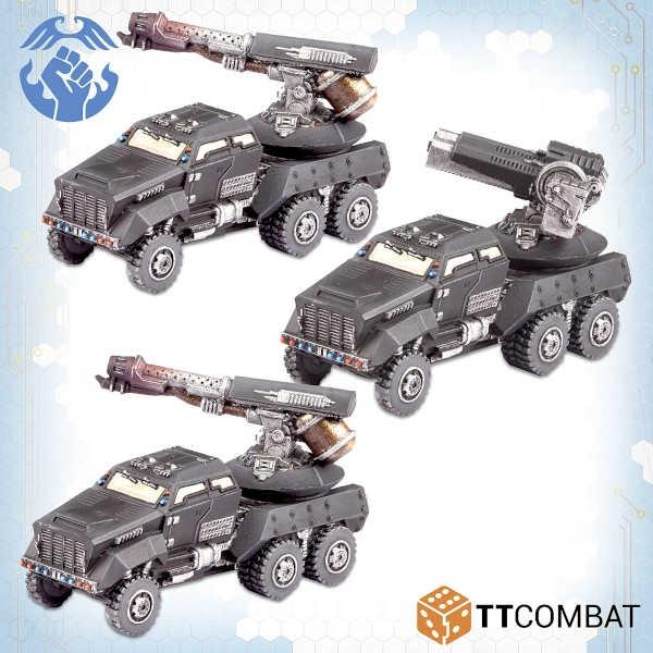 Kalium AA Gun Wagons