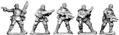 Bareheaded Troopers