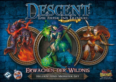 Descent 2. Edition: Erwachen der Wildnis: Helden-und Monster