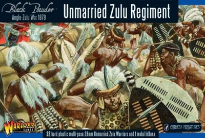 Unmarried Zulu Regiment plastic boxed set (32)