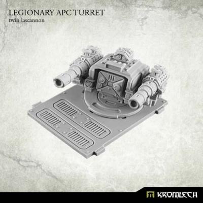 Legionary APC turret: Twin Lascannon