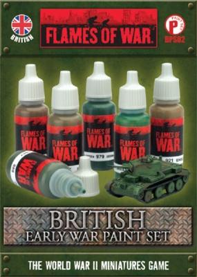 British Early War Paint Set (6)