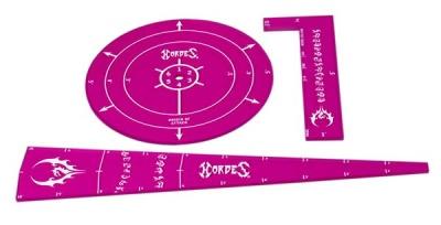 HORDES Everbight Template Set (acrylic)