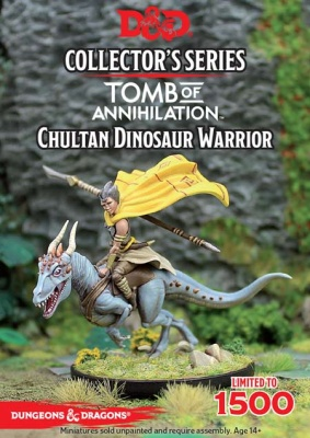 D&D: Tomb of Annihilation: Chultan Dinosaur Warrior
