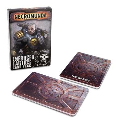 Necromunda Enforcer Tactics Card Pack (ENG)