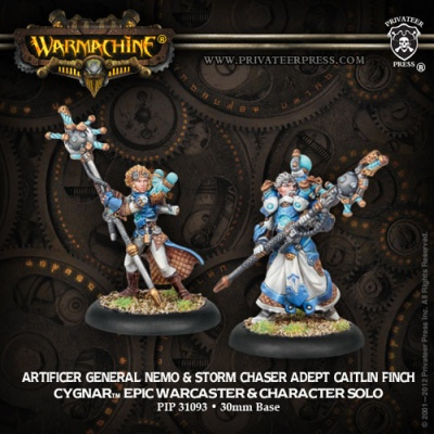 Artificer General Nemo Epic & Adept Finch (2)