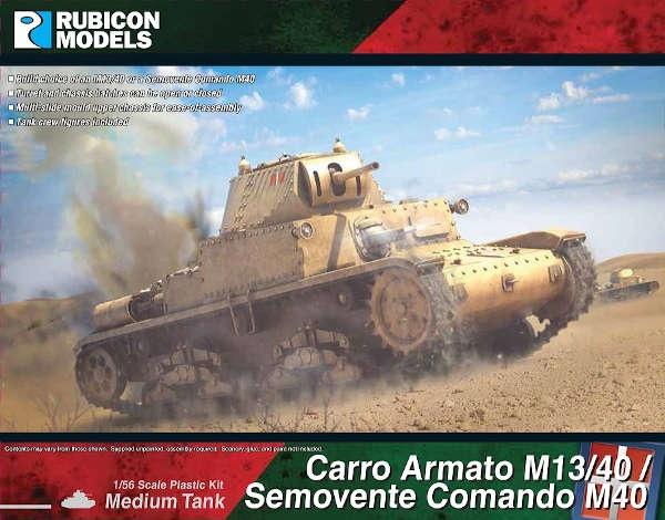 Carro Armato M13/40 / Semovente Comando M40