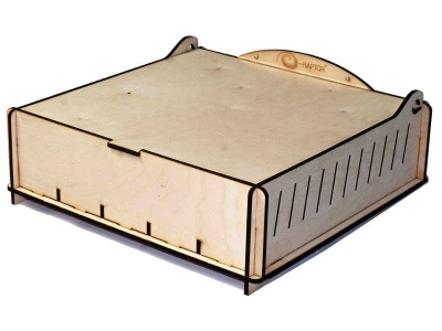 Trading Card Storage Big Box - Wooden