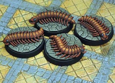 Giant Centipedes (4)