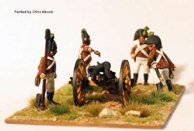 Artillery firing 6pdr