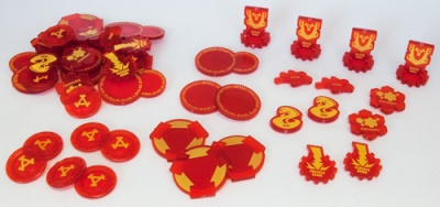 WARMACHINE Mk II Khador Token Set