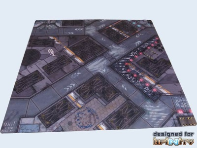 War Game Mat - 48x48inch - District 5