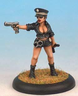 Cop girl OOP