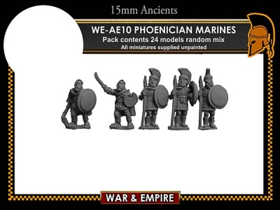 Early Persian, Phoenician Marines