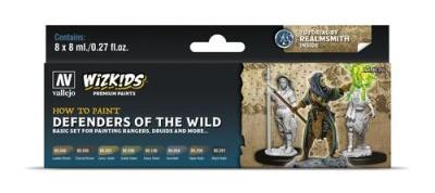 Vallejo Wizkids Premium: Defenders of the Wild (8ml) (8)