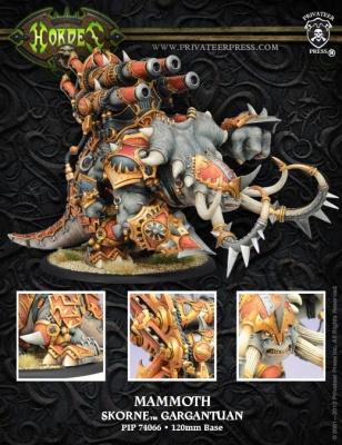 Skorne Mammoth Gargantuan Box (plastic)