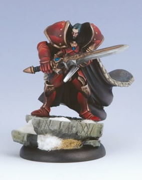 Khador Warcaster Vladimir, the Dark Prince (Katrina Relief)