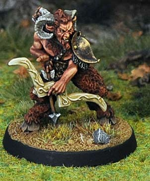 Satyr, with Bow