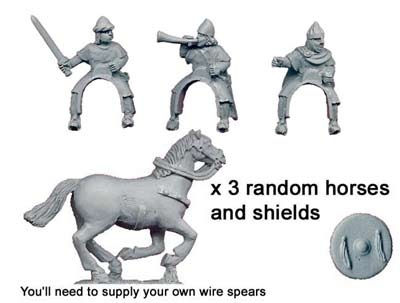 Spanish  Light Cavalry Command (3 figs)