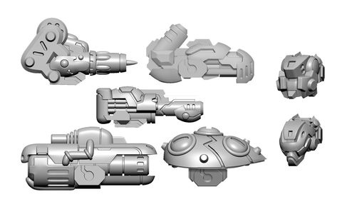 Scourge B Weapon Pack - Warcaster Aeternus Continuum Pack