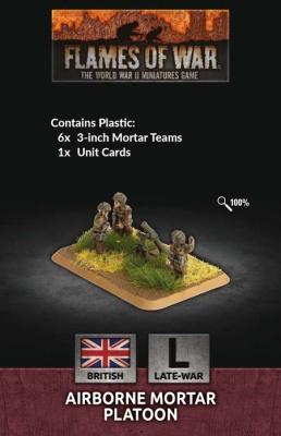 Airborne Mortar Platoon (x6 Plastic)