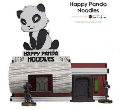 Happy Panda Noodles