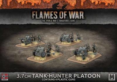 3.7cm Tank-Hunter Platoon (Plastic)