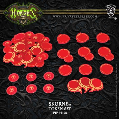 HORDES Skorne Faction Tokens 2016