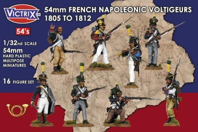 54mm French Napoleonic Voltigeurs 1805 - 1812 (16)
