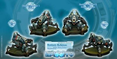 Armbots (Bulleteer) (2) (PO)