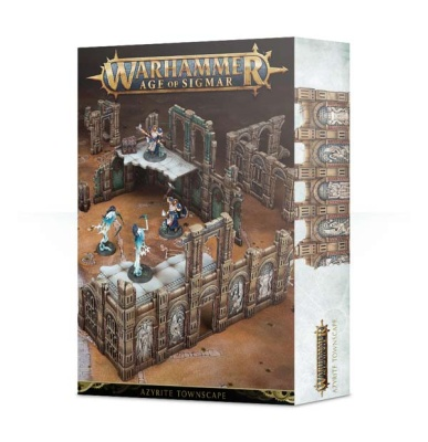 WH AoS Azyrite Townscape