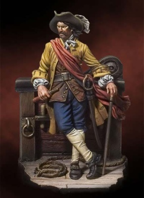Captain William Kidd, 1689 (54mm)