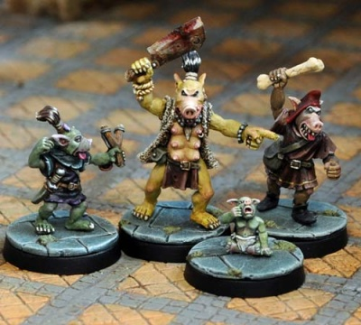 Pig-Faced Orc Tribal Pack (4)