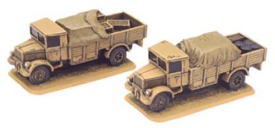 Lancia 3RO 6-ton Truck (x2 resin)